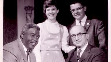 Rabinovitz Family and Jackie Robinson