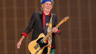 Aging rocker Keith Richards has a soft side, is writing a children's book
