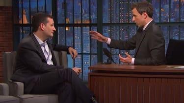 Seth Meyers and Ted Cruz debate gay marriage