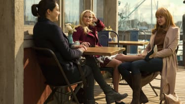 Shailene Woodley, Reese Witherspoon, and Nicole Kidman star in Big Little Lies.