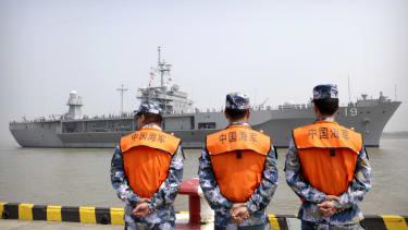 The disputed South China Sea.