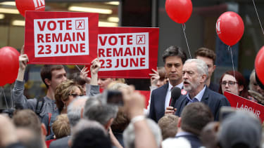 The Labour Party supports staying in the EU.