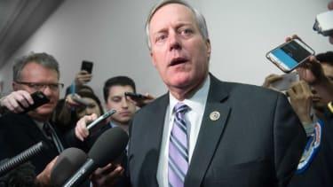 Rep. Mark Meadows is still negotiating the health-care bill