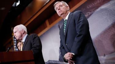 Sens. John McCain and Lindsey Graham