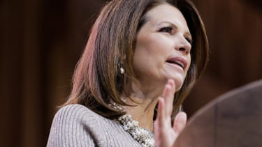 Bachmann: 'We will have a woman president, just the right one'