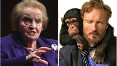Conan O'Brien and Madeleine Albright had an amazing Twitter showdown