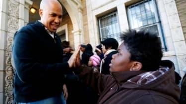 Newark's Cory Booker: Empathetic mayor, or political panderer?