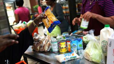 Food pantry, NYC