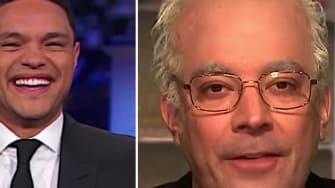 Trevor Noah, Jimmy Fallon, and Stephen Colbert on Bernie Sanders