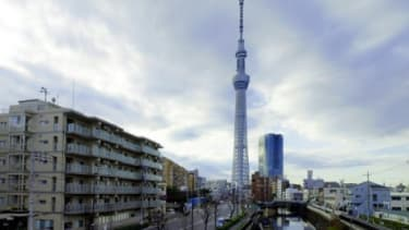 The Japanese company that is near completion on the Tokyo Sky Tree plans to build an elevator that will bring people some 22,370 miles above the Earth.