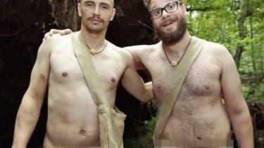 Watch James Franco and Seth Rogen get Naked & Afraid