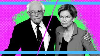 Bernie Sanders and Elizabeth Warren.
