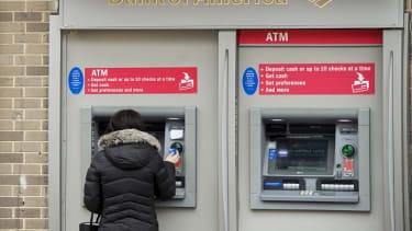 Bank of America ATM.