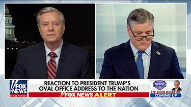 Lindsey Graham praises Trump's speech on Fox News