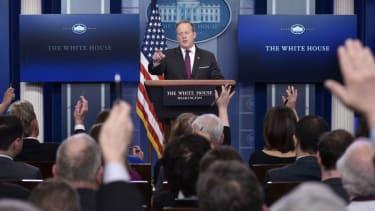 White House press briefing.