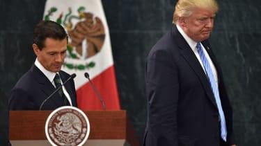 Enrique Pena Nieto cancels meeting with Donald Trump.