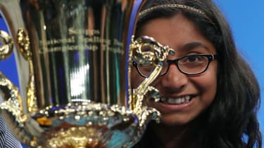 Ananya Vinay wins the 2017 Scripps National Spelling Bee