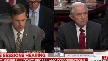 Martin Heinrich and Jeff Sessions.