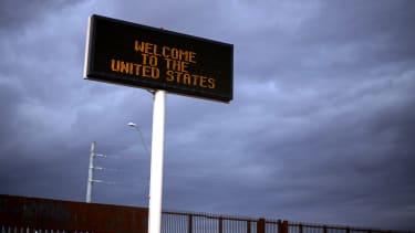 A sign in Arizona.