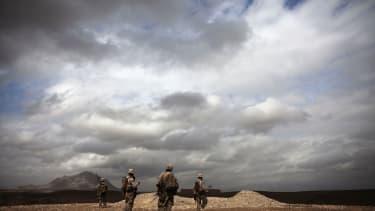 U.S. Marines in Afghanistan's Helmand province in 2011.