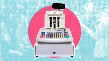 A Federal Reserve cash register.