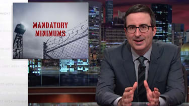 John Oliver tackles mandatory minimum sentences