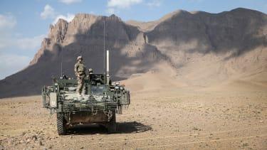 U.S. troops in Afghanistan in 2014.