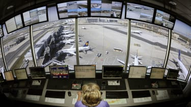 A airplane control tower operator.