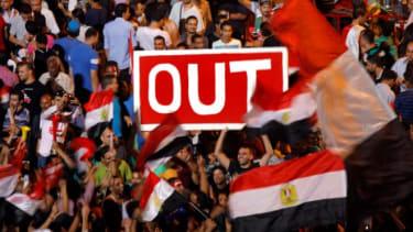 Mohamed Morsi protests