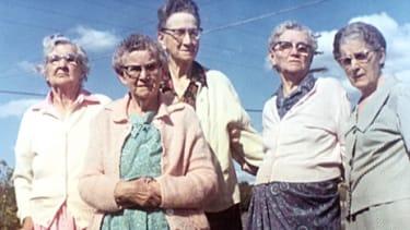 Older ladies in the 1960s