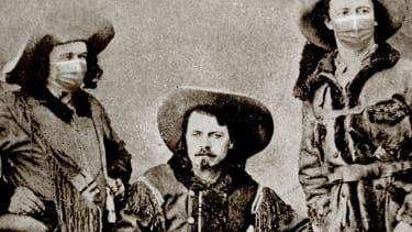Buffalo Bill and friends.