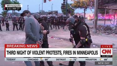 Minnesota police arrest CNN's Oscar Jimenez