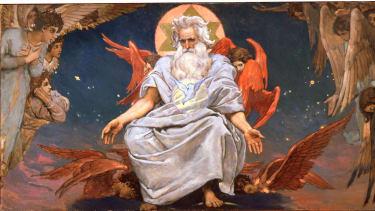 'God the Father,' by Viktor Mihajlovic Vasnecov.