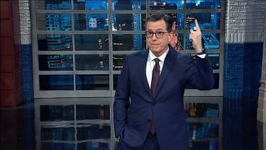 Stephen Colbert thanks Mitt Romney