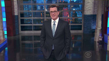 Stephen Colbert feels embarrassed for Trump and his circle