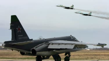 Russian Air Force planes