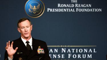 Retired Navy Adm. William McRaven.
