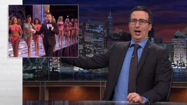 John Oliver asks some uncomfortable questions about the Miss America pageant