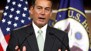 House Minority Leader John Boehner (R-OH) speaks during a news conference December 4, 2009 on Capitol Hill in Washington, DC.
