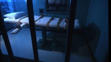 An execution room.