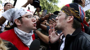 Counterprotesters.