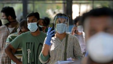 A queue for coronavirus drugs in India