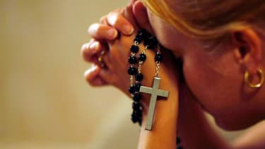 Catholic pray