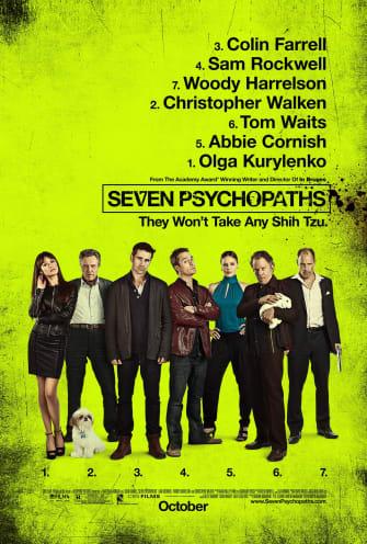Seven Psychopaths movie poster
