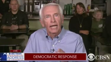 Steve Beshear speaks for the Democrats in response to President Trump.