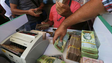 Venezuelans continue to struggle as their currency plummets.