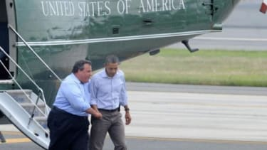 While Barack Obama is notably fit, New Jersey Governor Chris Christie has long struggled with his weight, which could be a hindrance if jumps into the presidential race.