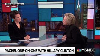 Hillary Clinton on Maddow