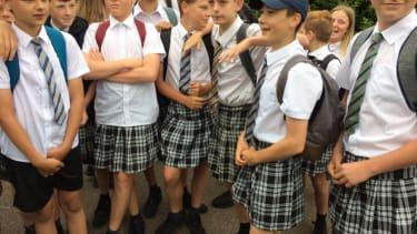 ISCA Academy students.