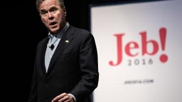 Jeb! campaign spending raises eyebrows.